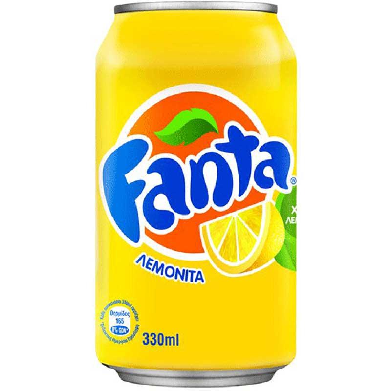 Fanta Lemon (24x33cl)