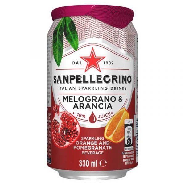 San Pellegrino Pomegranate & Orange (24x33cl)