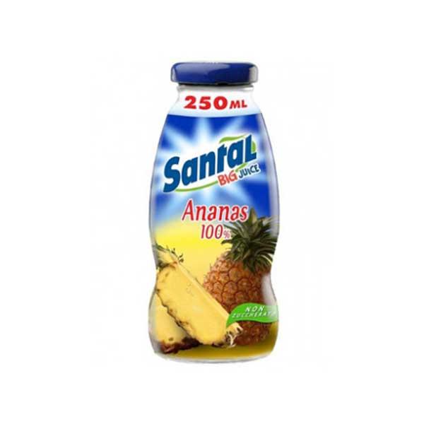 Santal Pineapple Juice – glass bottle (24x25cl)