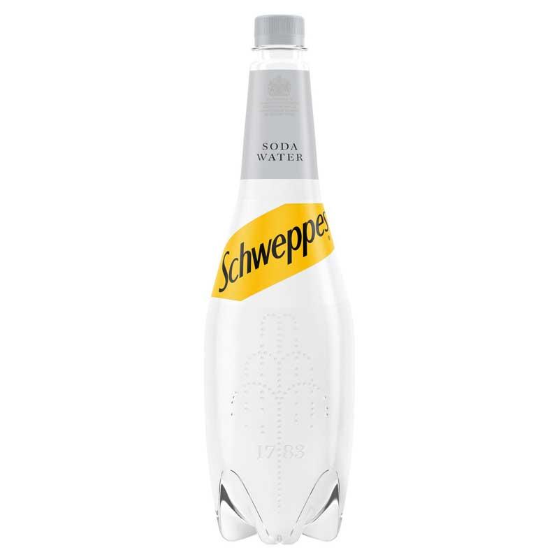 Schweppes Soda Water (6x1L)