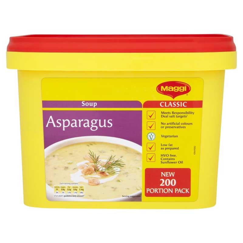 Maggi Asparagus Soup Powder (2Kg)