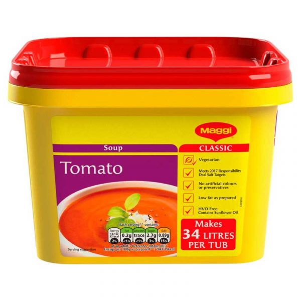 Maggi Beef & Tomato Soup Powder (2Kg)