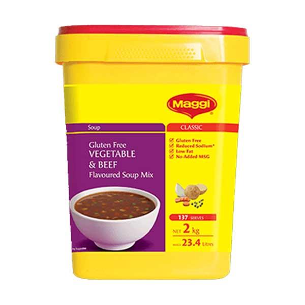 Maggi Beef & Vegetable Soup Powder (2Kg)