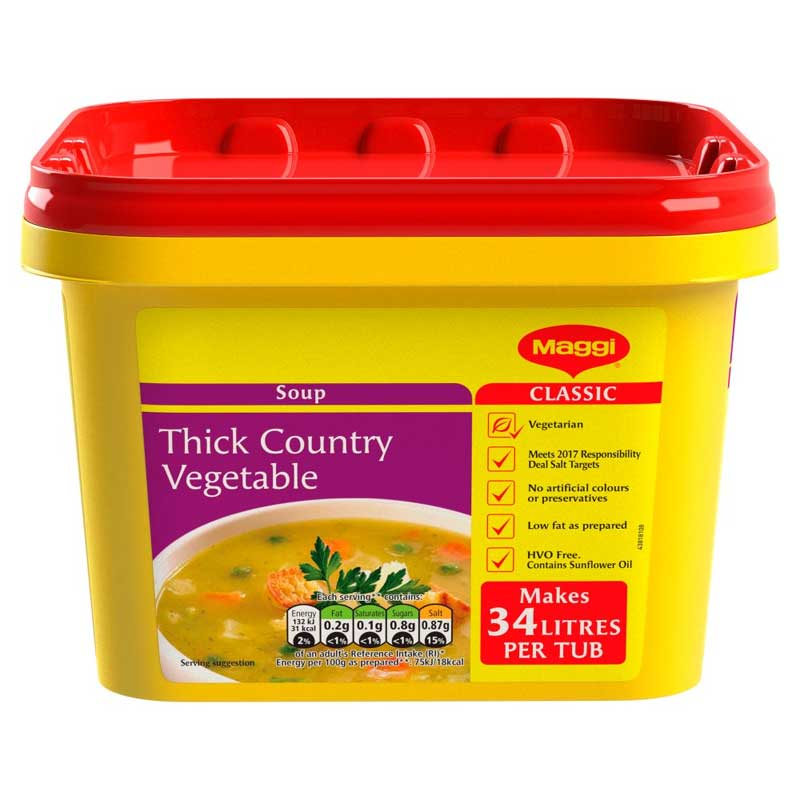 Maggi Country Vegetable Soup Powder (2Kg)