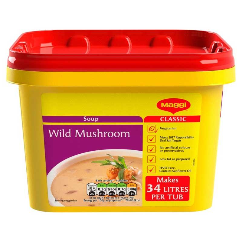 Maggi Wild Mushroom Soup Powder (2Kg)