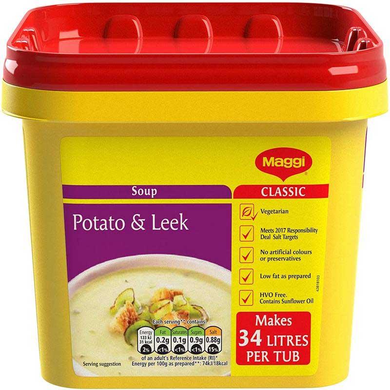Maggi Potato & Leek Soup Powder (2Kg)