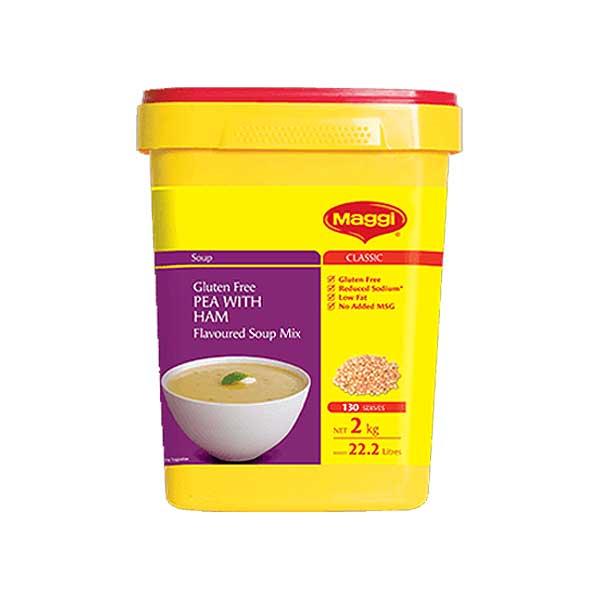 Maggi Golden Pea & Ham Soup Powder (2Kg)