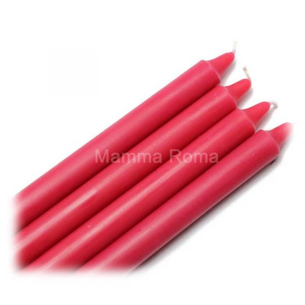 Red 10″ Household Candles (50)