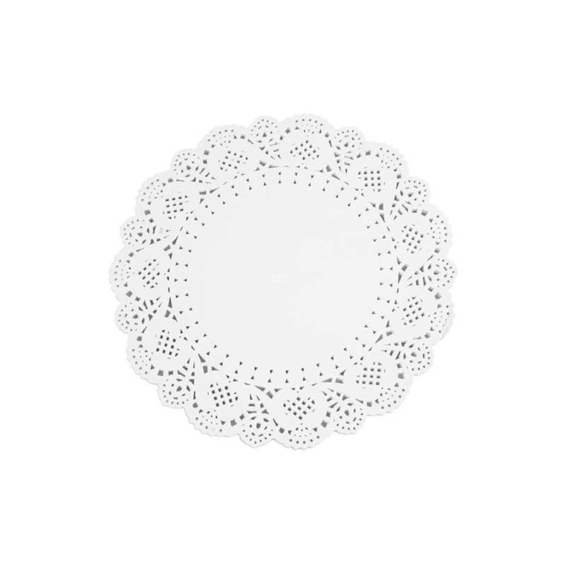 5.5″ White Circular Paper Doylies 14cm (250)