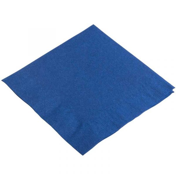 2 Ply 40cm Blue Napkins (100)