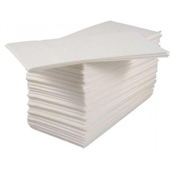 White 8 Fold 33cm Lotus Napkins (200)
