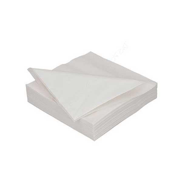 2 Ply 24cm White Coctail Napkins (500)