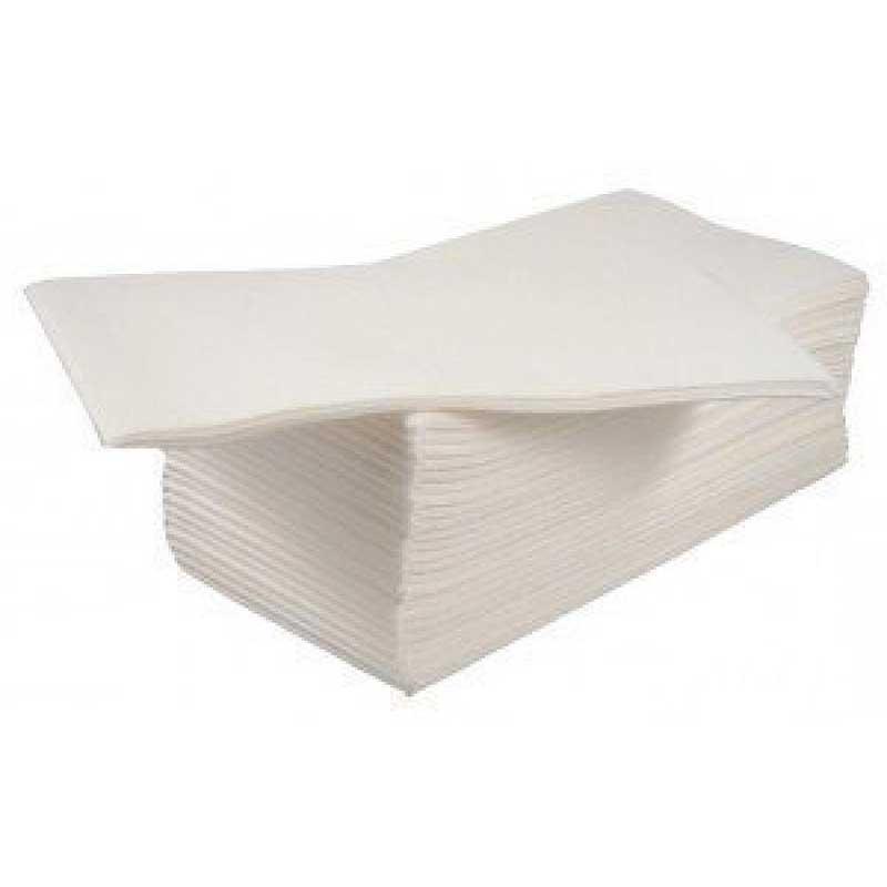 White 8 Fold 2 Ply 40cm Napkins (125)