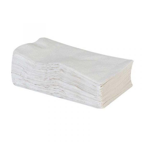 1 Ply White 8 Fold 40cm Napkins (500)