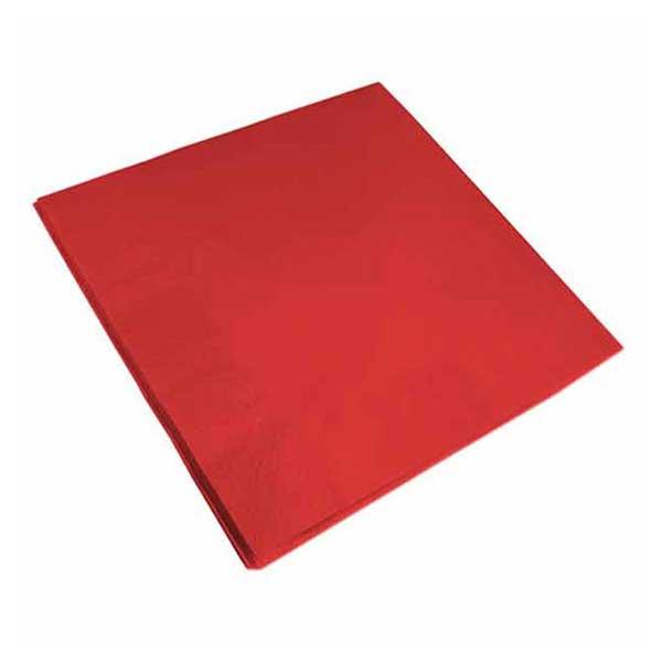 2 Ply 40cm Red Napkins 40cm (100)