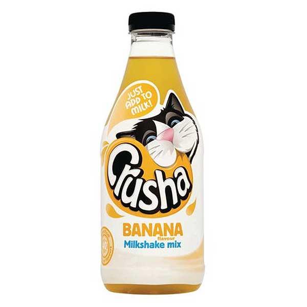 Crusha Banana Milkshake Syrup (1L)