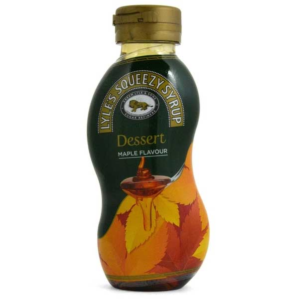 Lyles Maple Topping Syrup (325g)