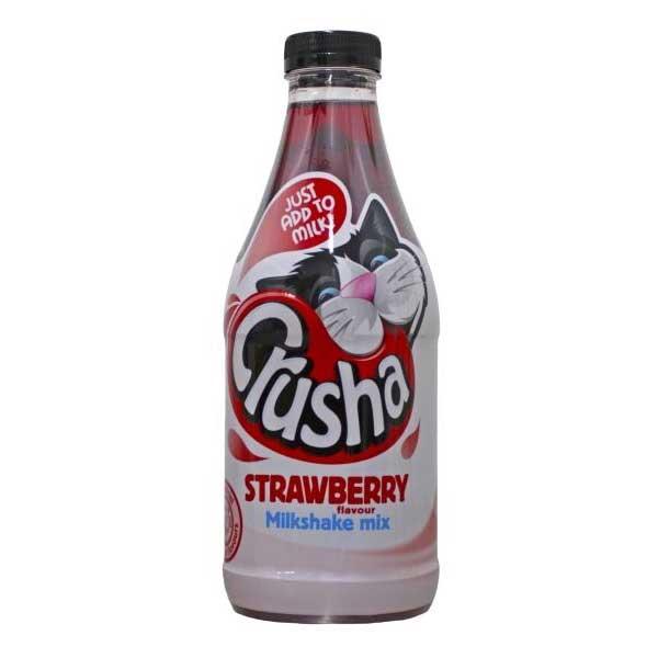 Crusha Strawberry Milkshake Syrup (1L)