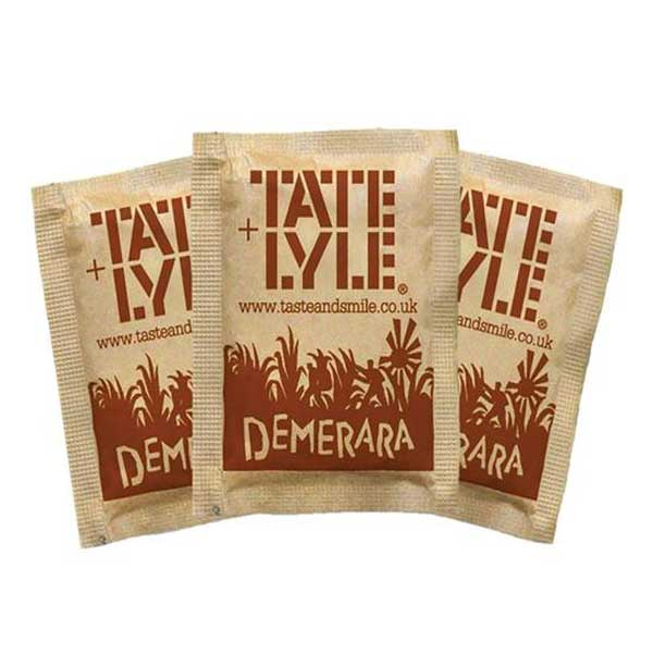 Tate & Lyle Light Brown Sugar Sachets (1000×2.5g)