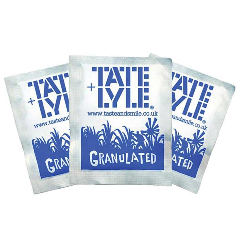 Tate & Lyle White Sugar Sachets (1000×2.5g)