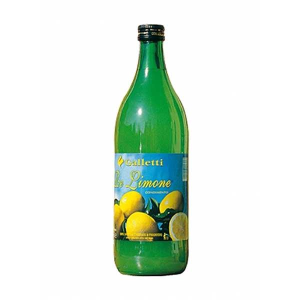 Galletti Lemon  Juice – glass bottle (1L)