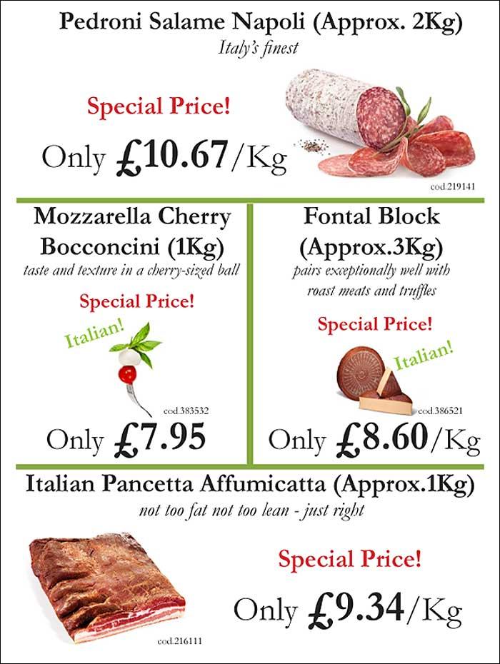 Italian Sausage Special Price from Mamma Roma Ltd